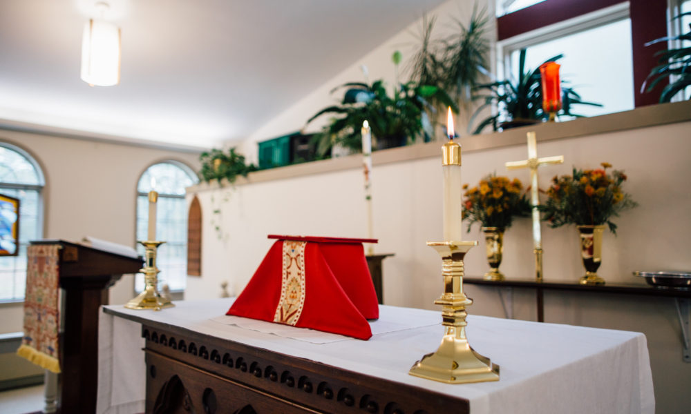 The Altar and Lectern